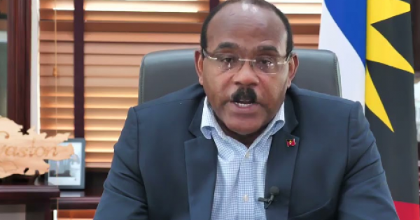 CARICOM (Caribbean Countries) Chariman, and Prime Minister of Antigua and Barbuda, the Honarable Gaston Browne