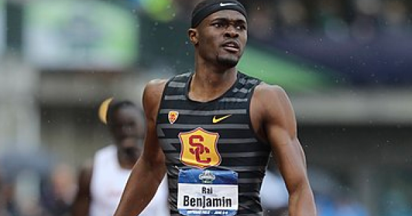 Rai Benjamin will be honored with a motorcade, starting at Mount Vernon High School