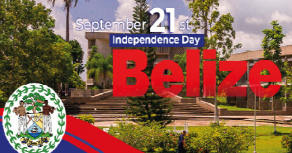 """""""Overcoming Adversity, Creating Opportunity, Belizeans: Unite for Prosperity!"""", is a rallying call for the people of Belize"""
