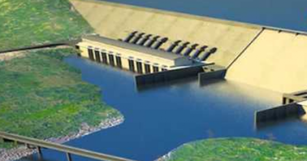 Africa's biggest hydro-electric plant
