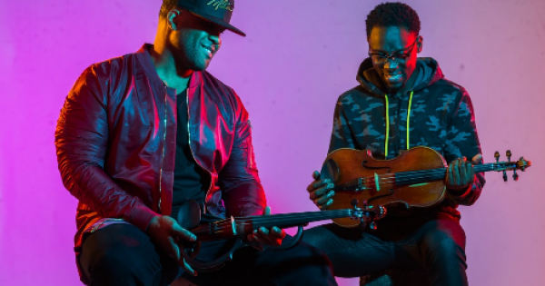 Give Thanks follows the Black Violin's 2019 full-length 'Take The Stairs,' which debuted in the top ten