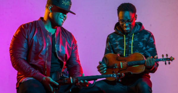 "Black Violin released ""Celebra"" featuring reggaeton singer De La Ghetto. The song is the second single released from Black Violi"