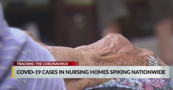 COVID-19 cases in a surrounding community is a top factor in outbreaks in nursing homes.