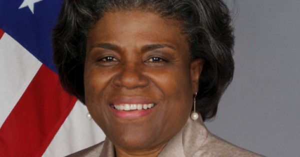 """""""Linda Thomas-Greenfield is more than qualified for this role. Her grace and her wit will serve this country well."""