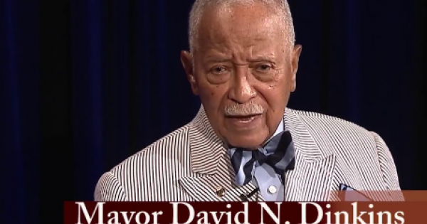 """""""We will honor Mayor Dinkins's legacy at our annual Founders' Day and Pinning Ceremony event on the evening of Thursday, Decembe"""