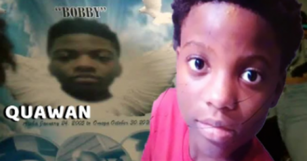 """None of us are safe from racist violence—especially, Black children like Quawan """"Bobby"""" Charles."""