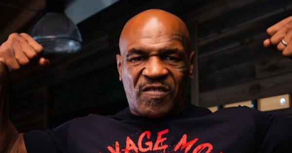 Foreman said he can envision the record being snatched away by 54-year-old Mike Tyson.