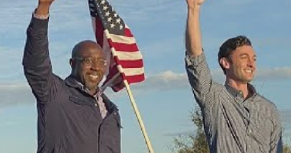 Control of the U.S. Senate hangs on whether Rev. Raphael Warnock and Jon Ossoff can win the Georgia's two Senate seats in the up