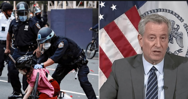 A recent city report has admitted that the NYPD engaged in police brutality--during police brutality protests in the wake of Geo