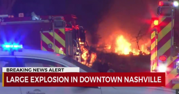 Christmas morning explosion in downtown Nashville that injured at least three people and damaged dozens of buildings was an int