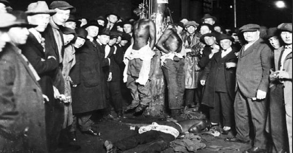 June 15, 1920 lynchings of Elias Clayton, Issac McGhie and Elmer Jackson in Duluth, Minnesota.