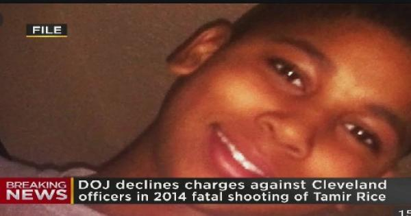 DOJ announced Tuesday that it would not charge two Cleveland police officers in killing of 12-year-old Tamir Rice,