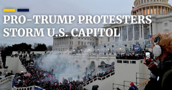 seditious pro-Trump supporters in Coup fashion violently stormed the U.S. Capitol, seeking to overturn the results of the 2020 e