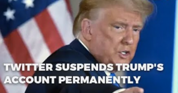 Trump's treasonous actions have even caused Twitter to permanently suspend Trump Twitter account.