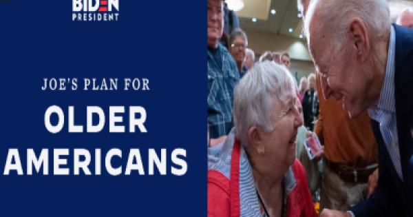 """Joe Biden laid out a """"Plan for Older Americans"""""""