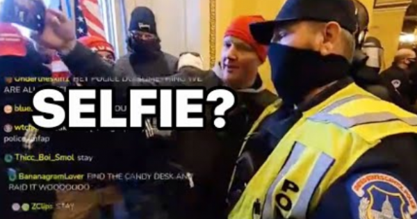 US Capitol Police officers are under internal investigation for allegedly helping rioters.