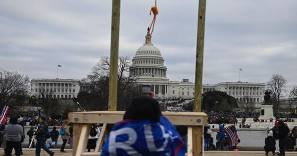 I still see the noose in front of the Capitol Building, dangling oh so metaphorically.