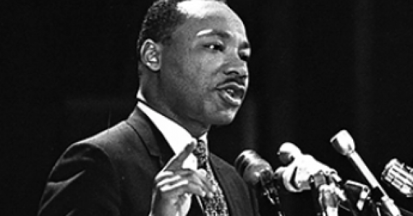 """The following speech, """"The Other America"""", was given by Dr. Martin Luther King on April 14, 1967, at Stanford University."""