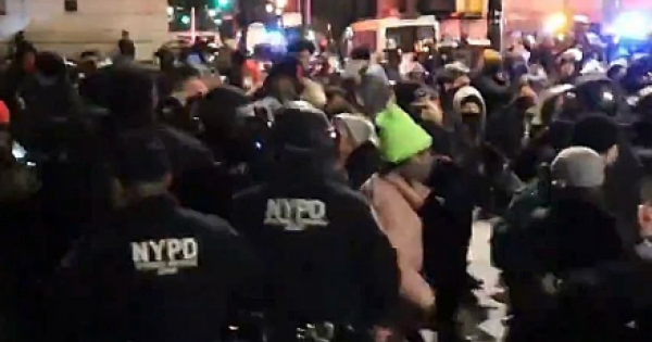 NYPD officers infringing on the rights of New Yorkers