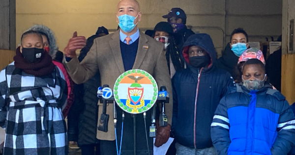 """Borough President Diaz Jr. held a """"Tech Equity Day of Action"""" and called on the Department of Education to provide appropriate d"""