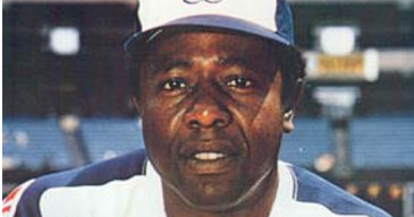 "Hall of Famer and longtime home run king Henry Louis ""Hank"" Aaron"