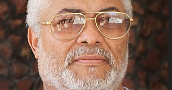 Ghana's late president Jerry John Rawlings was buried at the country's military cemetery in the capital after four days of comme