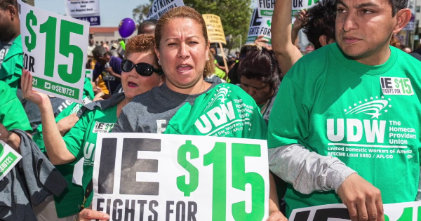 increase the minimum wage to $15 an hour now