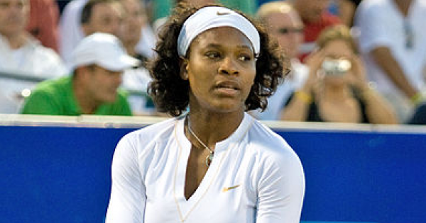 """Serena Williams was saying, """"Not so fast, pal."""""""