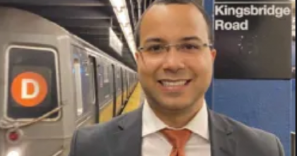 Oswald Feliz for the upcoming City Council special election for the 15th District in the Bronx