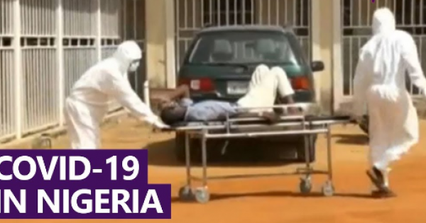 The official figure for Nigeria is 153,000 cases with 1,862 deaths.