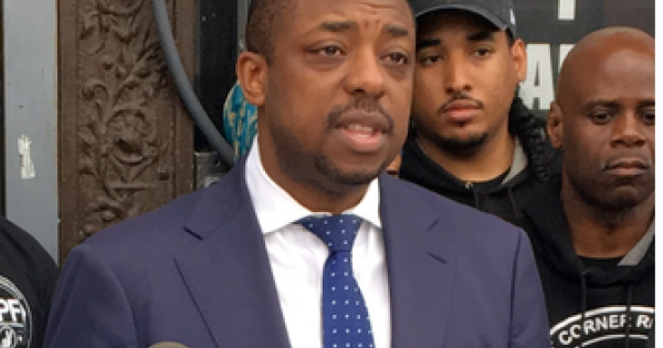 New York State Senator and candidate for New York City Comptroller Brian Benjamin