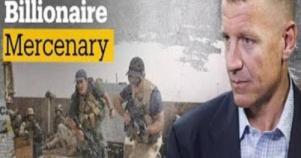 Erik Prince, the founder of the mercenary firm Blackwater