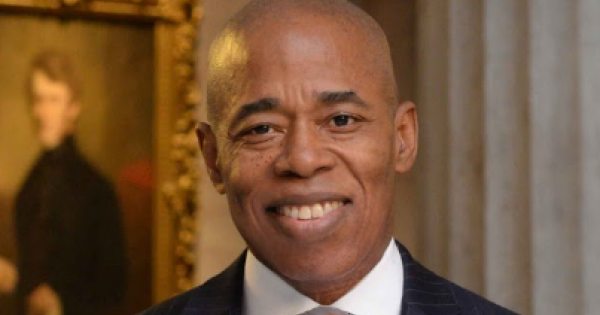 Brooklyn Borough President Eric Adams received a key mayoral endorsement from the powerful hotel workers union Tuesday