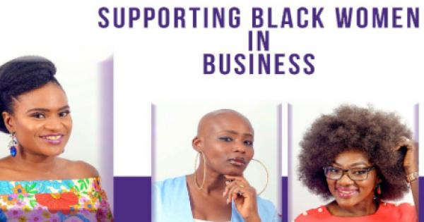 Black-owned small businesses, with an emphasis on those owned by Black women.