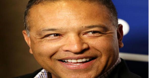 Los Angeles Dodgers manager Dave Roberts, the son of a Black father and a Japanese mother