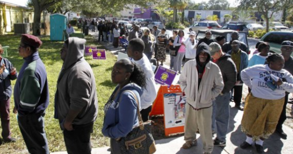 The voter suppression campaign response Republicans are currently engaging in--after their losses in the November Election, and