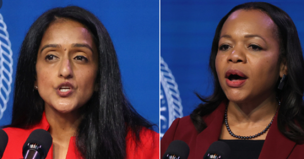 we must fight for women of color who fight for us like Kristen Clarke and Vanita Gupta.