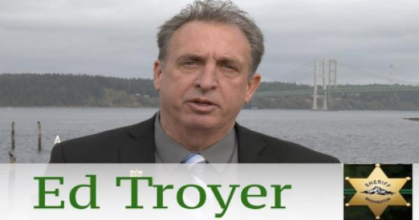 Sheriff Ed Troyer, who claimed that a Black male newspaper carrier was threatening him, (a claim Troyer later recanted under in