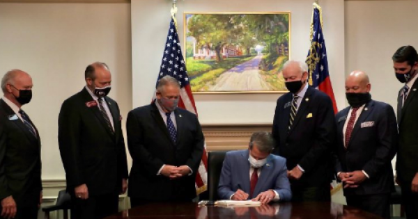 Georgia General Assembly (and Governor Brian Kemp shown above) made the best possible case for new federal voting rights legisla