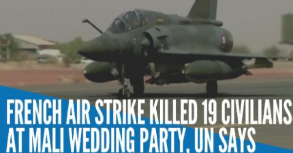 French airstrike killed at least 19 civilians in central Mali in January