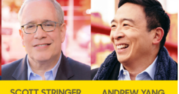 NYC Mayoral candidate Scott Stringer attacked Andrew Yang on the issue of tax breaks and buses in New York City's transit system