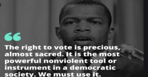 Voter Empowerment Act, legislation originally authored in the House by civil rights icon Congressman John Lewis, who passed away