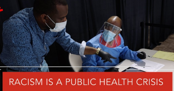 The Centers For Disease Control (CDC) recently diagnosed racism as a public health epidemic.
