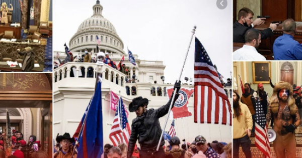 100th day since former President Trump encouraged a mob of radicalized extremists to storm the U.S. Capitol.