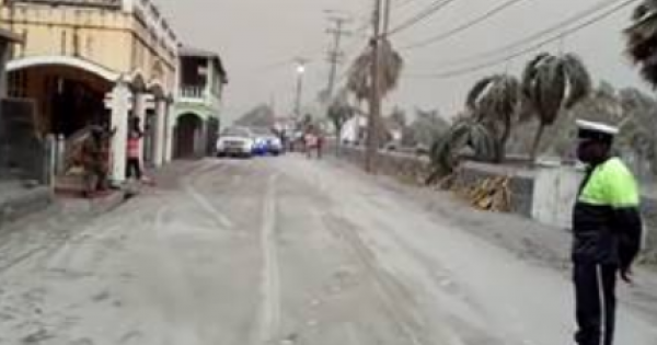 """""""A modern-day Pompeii is occuring right now"""" in St. Vincent and The Grenadines, where volcanic eruptions has led to evacuations"""