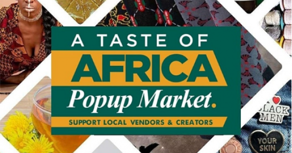 """""""Taste of Africa"""", which is a part of the AFRICAN RESTAURANT WEEK movement."""