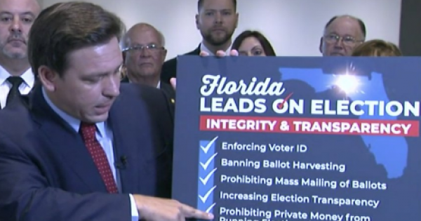 block new restrictive voting measures immediately after Gov. Ron DeSantis signed them into law