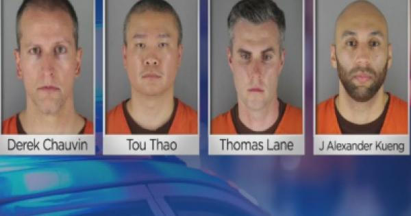 federal indictments against the four ex-police officers in Minneapolis who murdered George Floyd