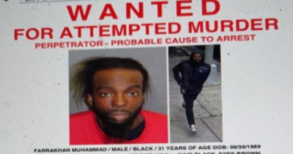 Farrakhan Muhammad (above) is alleged by NYPD to be the shooter