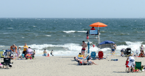 City's eight public beaches (including Rocaway Beach above) will open for swimming on Saturday, May 29, and remain open through